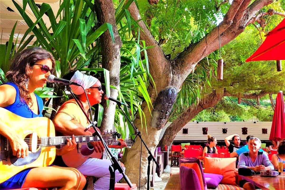 Live music à l'Eden Plage Mala